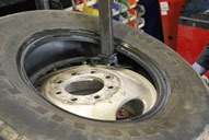 Fleet Tyre Fitting
